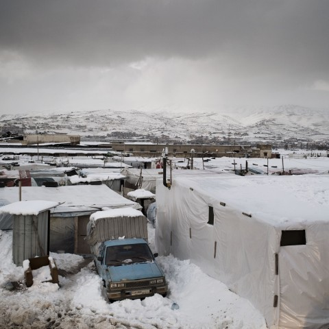 Lebanon, Bekaa Valley. Refugee Camp. Alessio Romenz