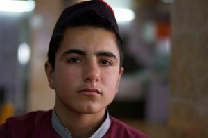 14-year old Ahmed has given up school to work at a restaurant in Sulimaniyah, Iraq. ©UNICEF/Iraq-2013/Noorani