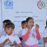 Syrian children celebrate World Water Day in Iraq
