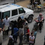 UNICEF supplies delivered to besieged Douma